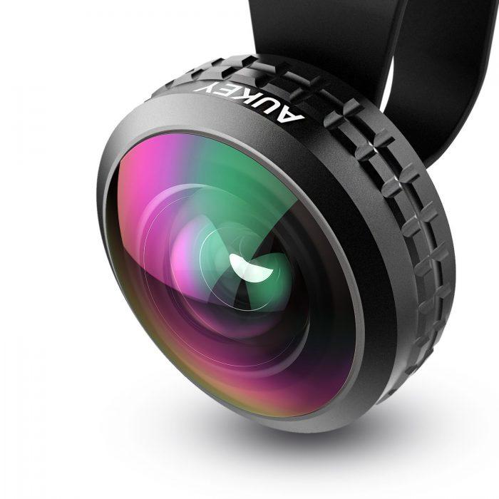 AUKEY Optic Pro 238度广角镜头 21.99元限量特卖,原价 29.99元
