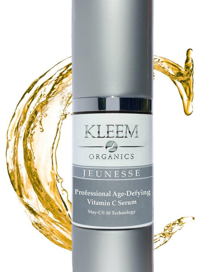 Kleem Organics VITAMIN C SERUM抗衰老透明质酸和维生素E保湿润肤霜 19.99元热卖!