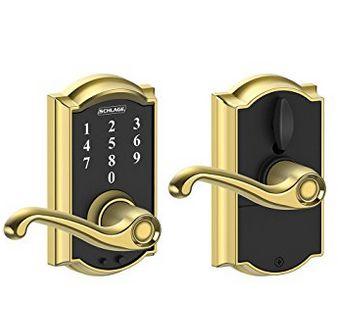 Schlage 西勒奇  FE695 CAM 605 FLA 电子密码门锁 91.01元限量特卖,原价 189元,包邮