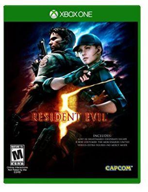 Capcom XB1 Resident Evil 5 HD《生化危机5》13.38元限量特卖!