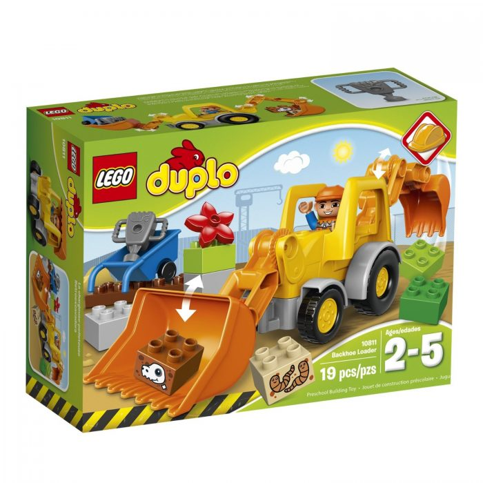 LEGO 乐高 DUPLO 10811 挖掘装载车 14.37元,原价 20元,购满100元
