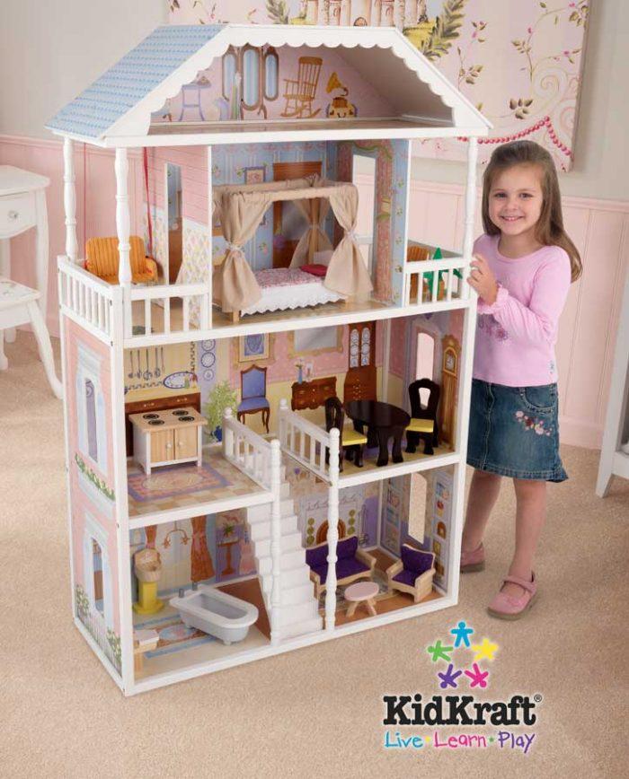 KidKraft 65023 时尚娃娃屋 129.97加元,原价 189.99加元