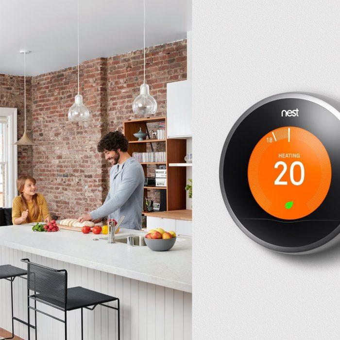Nest Learning Thermostat第3代 中央空调 恒温 温控器 249元,原价 329元,包邮