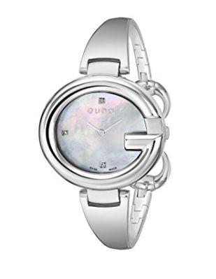 优雅时尚!Gucci 古驰 YA134303 Guccisima 石英腕表 536.55元,原价 712.05元,包邮