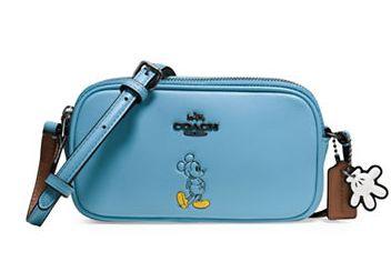 COACH Boxed Mickey Mouse超可爱米奇斜挎包 4折 76加元,原价 190加元