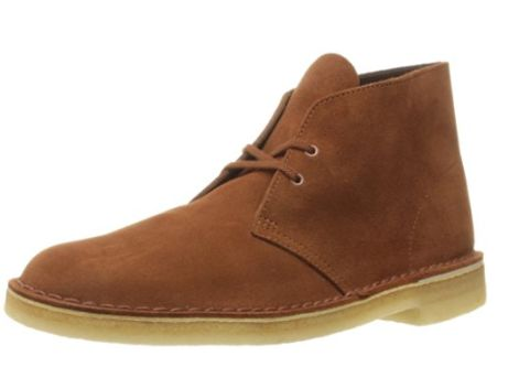 Clarks Desert Chukka 男士休闲鞋 58.55元起特卖(多色可选),原价 170元,包邮