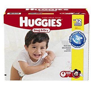 Huggies 好奇纸尿裤  29.44元限量特卖(1-6号,188片),原价 60.99元,包邮