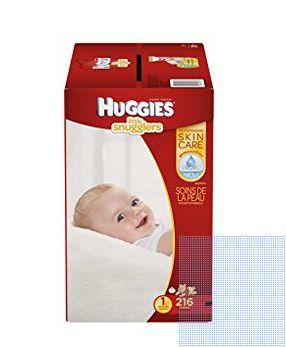 Huggies 好奇 Little Snugglers 纸尿裤 29.44元(1,2,3,4,5号),原价 38.44元,包邮