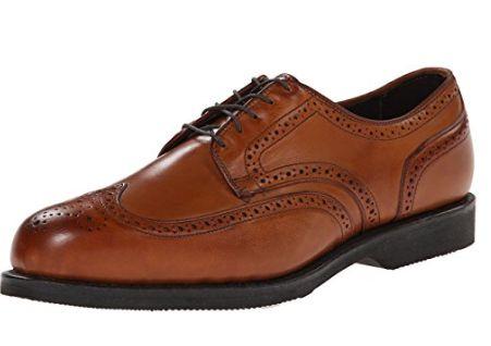 备受美国名人喜爱!Allen Edmonds LGA 男士真皮雕花皮鞋 203.4元(8.5,12码,2色),原价 383.44元,包邮
