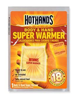 冬天怕冷?姨妈来了?HotHands暖手神器暖手宝40套装 28.44元限时特卖!