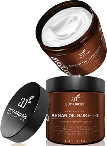 Amazon同类商品中销售第一!Art Naturals 8盎司坚果油深层护发发膜 15.95元特卖!