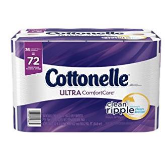 Cottonelle Ultra 36卷双层超软卫生纸 14.22加元,原价 28.49加元
