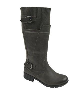 Comfy Moda 女式羊毛村里防水雪地靴 67.32元限量特卖并包邮!两色可选!