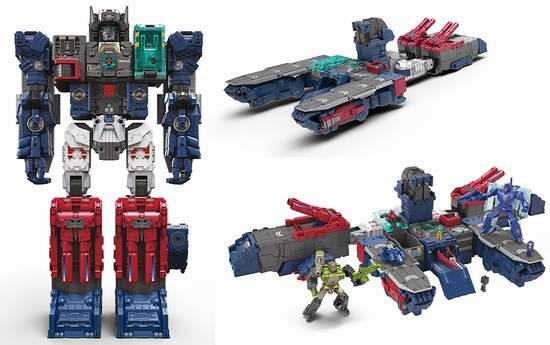 历史最低价!Hasbro 孩之宝 Transformers B6118 变形金刚 泰坦级 巨无霸福特6.5折 149.98加元限时特卖并包邮!