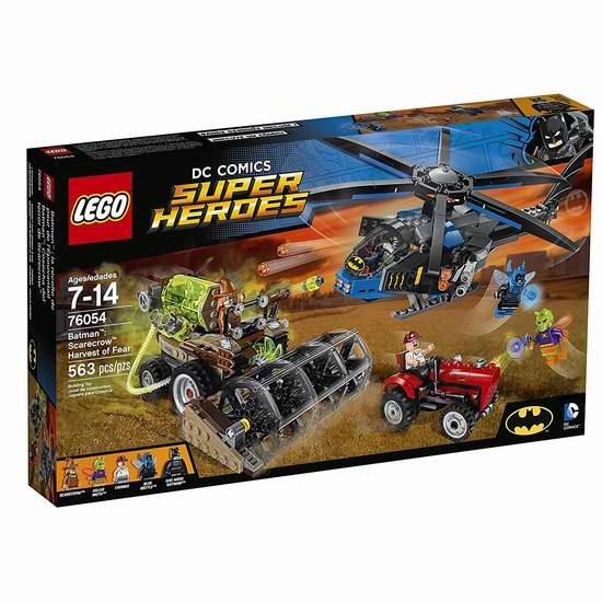 Lego 乐高 76054 超级英雄系列 蝙蝠侠稻草人恐怖集中营积木套装(563pcs)5折 37.5加元包邮!