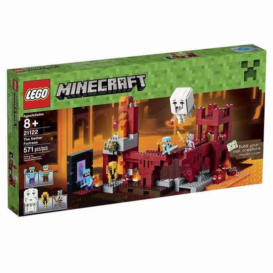 Lego 乐高 21122 我的世界系列 地下堡垒积木套装7折 69.51加元限时特卖并包邮!