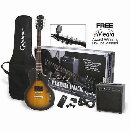 金盒头条:史低价!精选18款电子琴、吉他、四弦琴、电子鼓等乐器2.8折起限时特卖并包邮!售价低至44.99元!