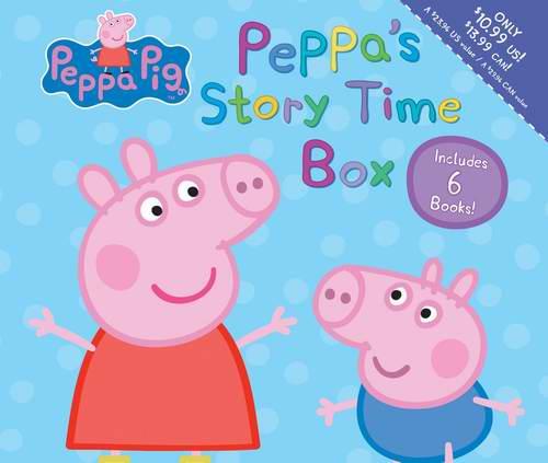 销量冠军!Peppa Pig: Story Time《粉红猪小妹 故事时间》6本套装5.7折 7.99加元!