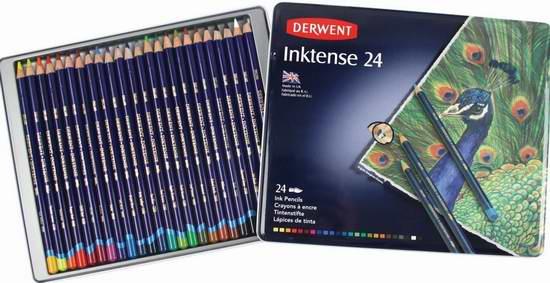金盒头条:历史新低!精选17款 Derwent 英国得韵 顶级彩铅2.6折起限时特卖!售价低至5.99元!