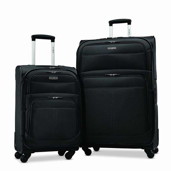 历史新低!Samsonite 新秀丽 19寸&29寸轻质可扩展拉杆行李箱2件套 159.99加元限时抢购并包邮!