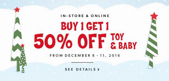 Indigo Chapters 精选大量玩具、生活用品、书籍、数码产品、装饰品、婴儿用品等2.5折起限时特卖!