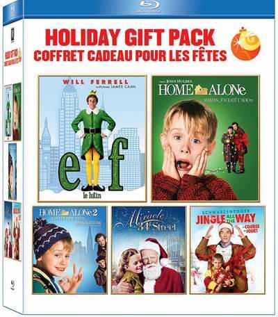 金盒头条:历史新低!圣诞电影蓝光影碟礼盒装 19.99元限时特卖!