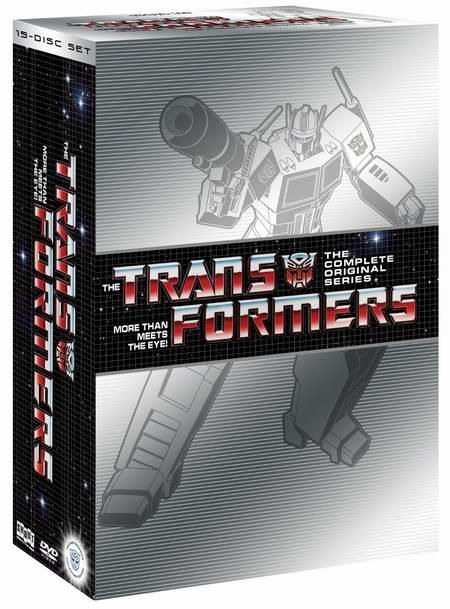金盒头条:历史最低价!Transformers《变形金刚》DVD全集 30.99元限时特卖!