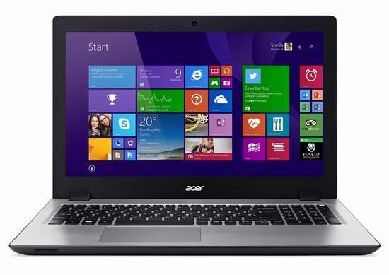 历史新低!Acer 宏碁 Aspire 15.6英寸触摸屏笔记本电脑 428.8加元限时特卖并包邮!