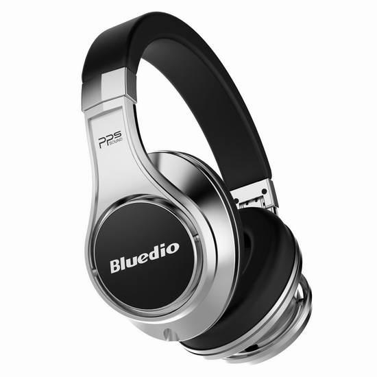 Bluedio 蓝弦 U(UFO)旗舰版蓝牙头戴式耳机 107.99加元限量特卖并包邮!