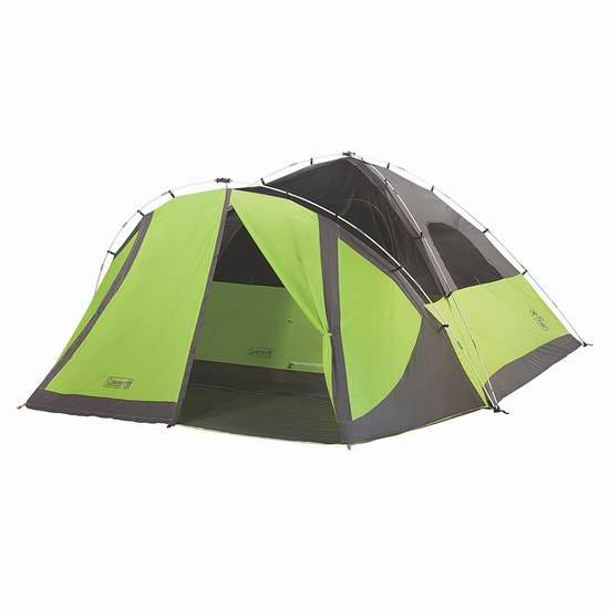 历史新低!Coleman Evanston 8人户外圆顶帐篷5.1折 154.59元限时特卖并包邮!
