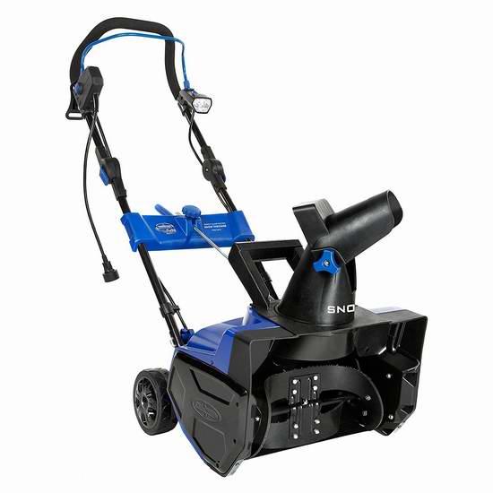 历史新低!Snow Joe Ultra SJ619E 14.5安培18英寸电动铲雪机 174.3元限量特卖并包邮!免收10元环境处理费!