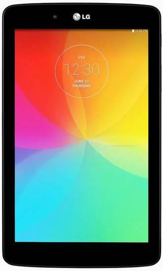 金盒头条:历史新低!LG LGV400AUSABK G Pad 8GB 7英寸平板电脑 149.99元限时特卖并包邮!