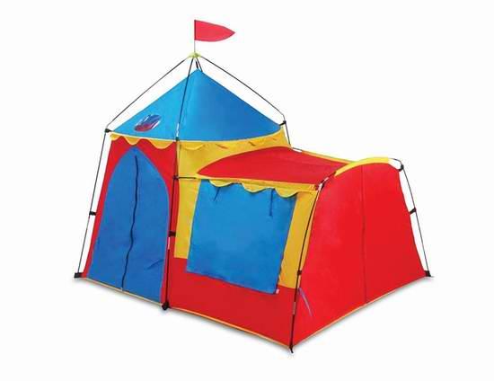 历史新低!GigaTent Ct 013 骑士城堡儿童帐篷6折 39.6元限时特卖并包邮!