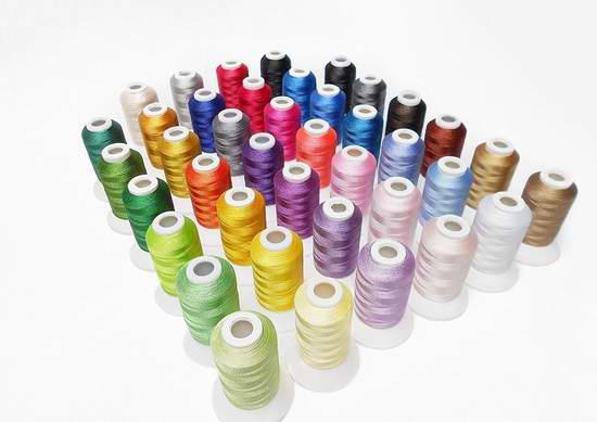 Simthread 40色通用彩色绣花机/缝纫机线 39.94加元限量特卖并包邮!