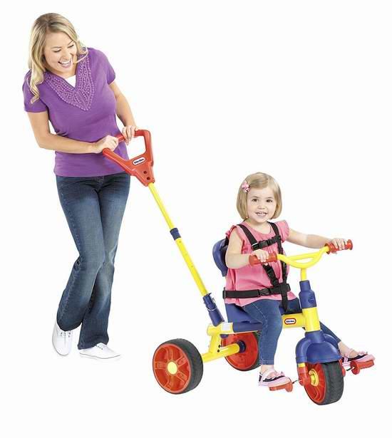 历史新低!Little Tikes Learn to Pedal 成长型儿童三轮车5.5折 42.9元限时特卖并包邮!