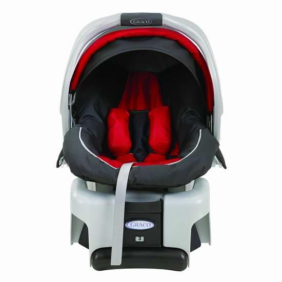 历史新低!Graco 葛莱 SnugRide 30 经典款婴儿汽车安全提篮6.2折 129.99元限时特卖并包邮!