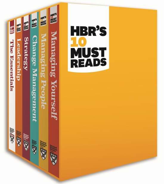 HBR's 10 Must Reads《哈佛商业评论 管理必读》系列丛书6本礼盒装6折 87.2加元包邮!