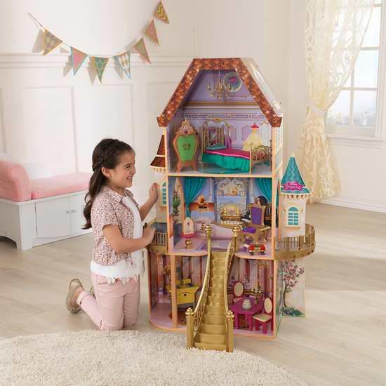 历史新低!KidKraft 经典童话 Belle 贝尔的魔法玩具屋3.9折 93.02加元限量特卖并包邮!