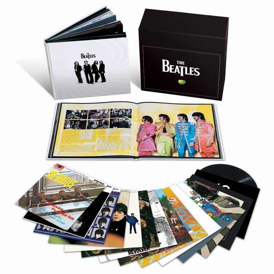 金盒头条:The Beatles 披头士/甲壳虫乐队 14专辑16张立体声LP黑胶唱片(180克)全集 199.99元限时特卖并包邮!