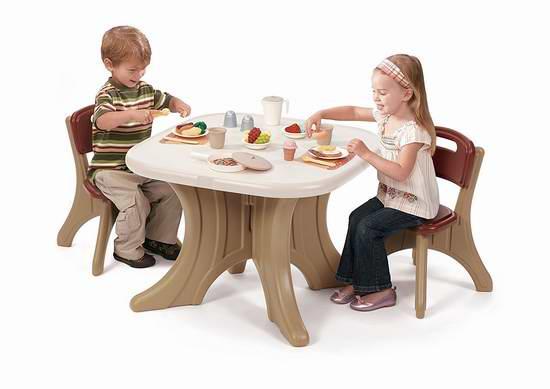 历史新低!Step2 New Traditions 儿童桌椅套装5.5折 64.35元限时特卖并包邮!