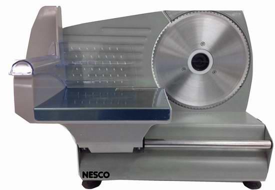 历史新低!Nesco FS-160 180瓦多用途不锈钢切片机 83.99元限量特卖并包邮!