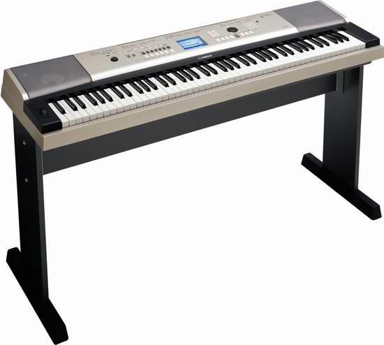 Yamaha 雅马哈 YPG-535 88键便携式电子琴+琴架套装 638.39元限量特卖并包邮!