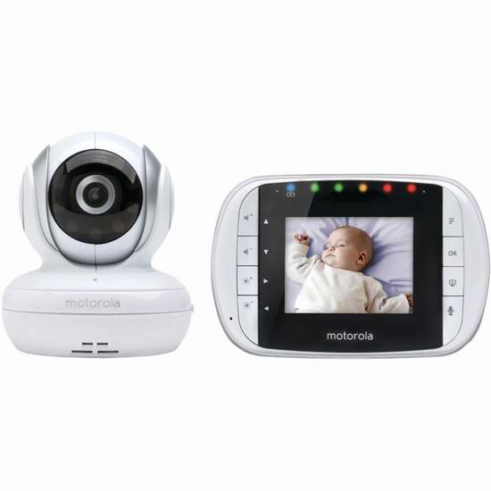 Motorola MBP33S 无线婴儿视频监护器 119.99加元,原价 199.99加元,包邮