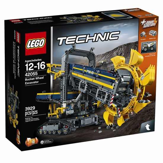 LEGO 乐高 42055 科技旗舰 二合一 斗轮式挖掘机积木套装(3929pcs)6.3折 229.99加元限时特卖并包邮!
