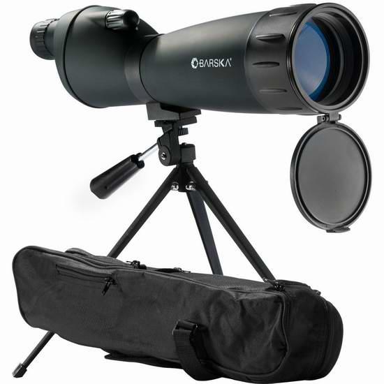 历史新低!Barska CO10998 25-75x75 mm Colorado 单筒观鸟镜/望远镜 96.35元限时特卖并包邮!