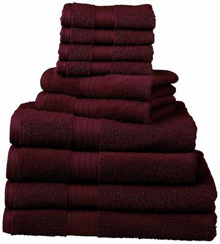历史新低! Divatex Home Fashions 540 GSM 豪华浴巾毛巾12件套4折 44.69元限量特卖并包邮!