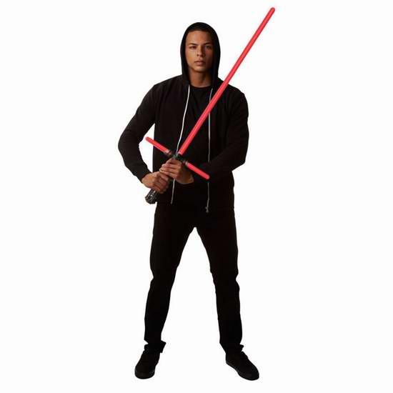 金盒头条:历史新低!Star Wars 星球大战珍藏版系列 1:1道具级FX 凯洛伦豪华十字光剑 Lightsaber 3.7折 97.99加元包邮!