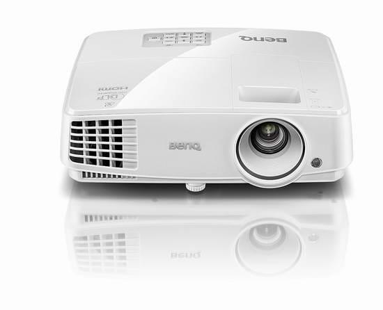 金盒头条:历史新低!BenQ 明基 MW526A WXGA 3D 宽屏投影机 449.99元限时特卖并包邮!