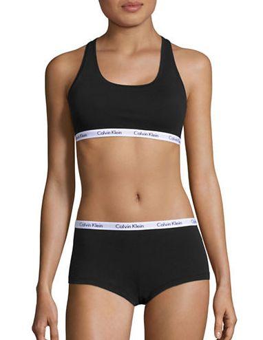 Calvin Klein Bralette and Boyshort 女式内衣两件套3.4折 19.99元限时特卖!3色可选!