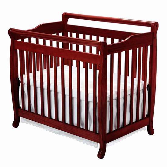 历史新低!DaVinci Emily 实木二合一成长型婴儿床 169.9元限时特卖并包邮!